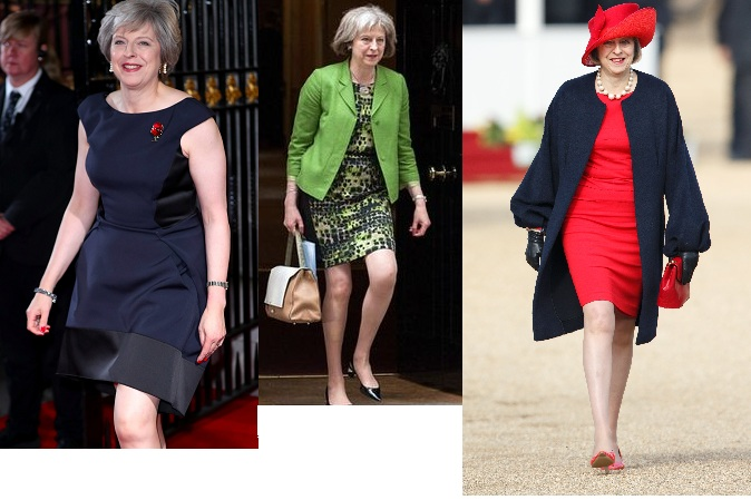 Theresa May elbiseler