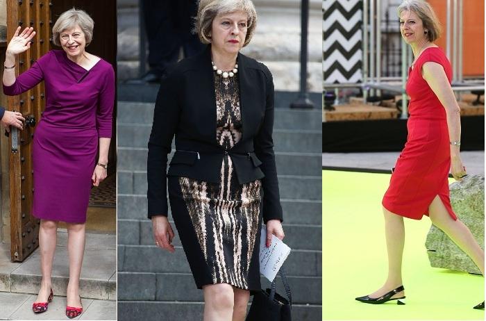 Theresa May elbise