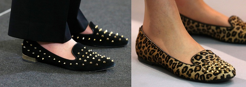 Theresa May slippers