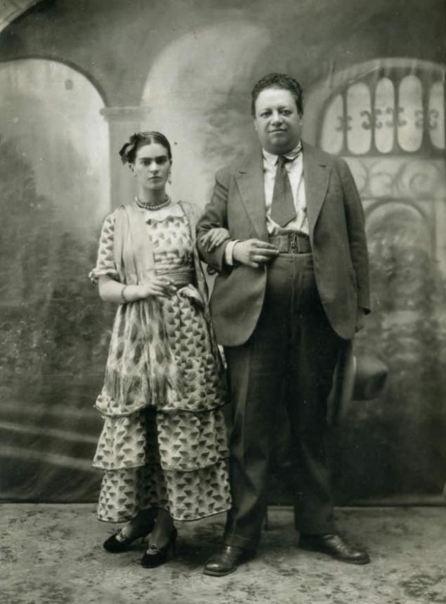 Frida Kahlo ve Diego Rivera