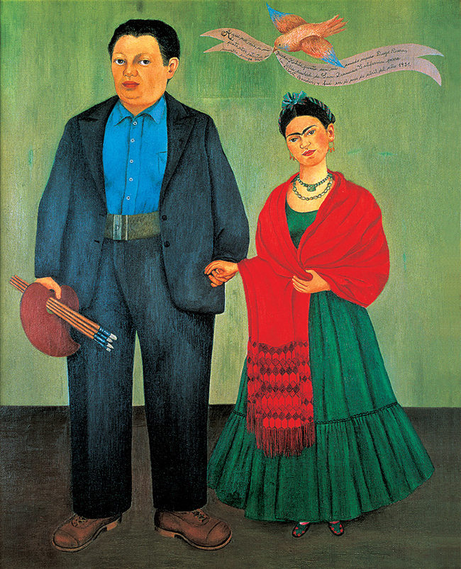 Frida ve Diego Rivera
