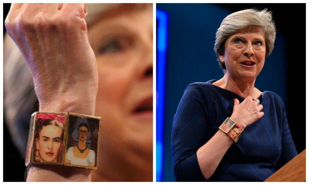 Theresa May frida kahlo