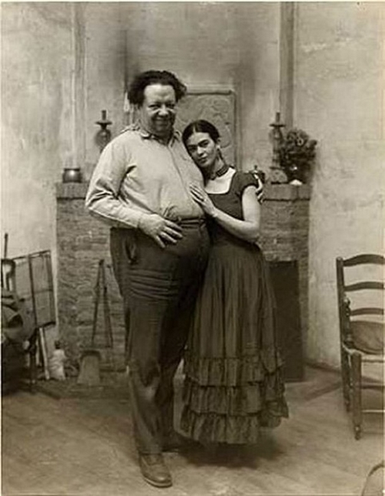 Frida ve Diego hikayesi