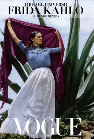Vogue Amerika Frida Kahlo
