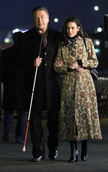 жаккардовое пальто Слепец