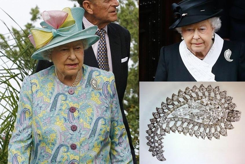 kraliçe elizabeth mücevherleri