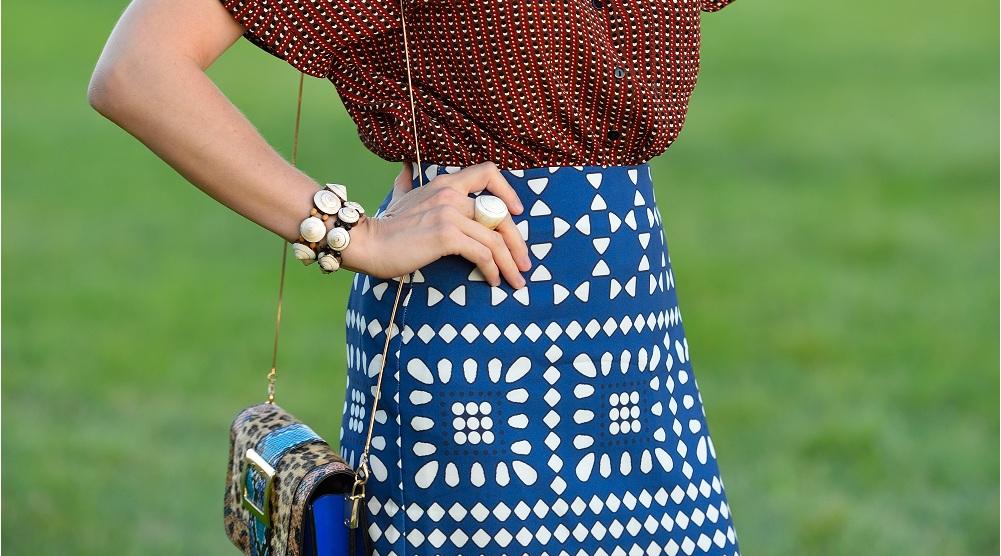 Giyimde afrika stili