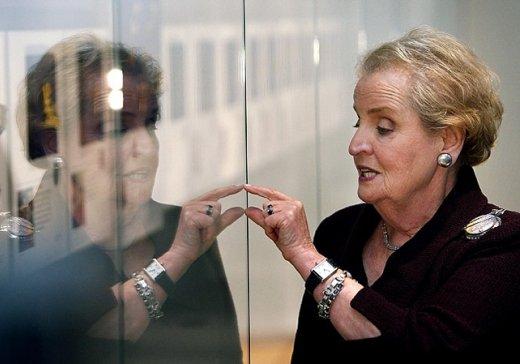 madeleine albright read my pins sergi