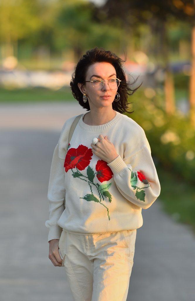 свитера машинной вязки