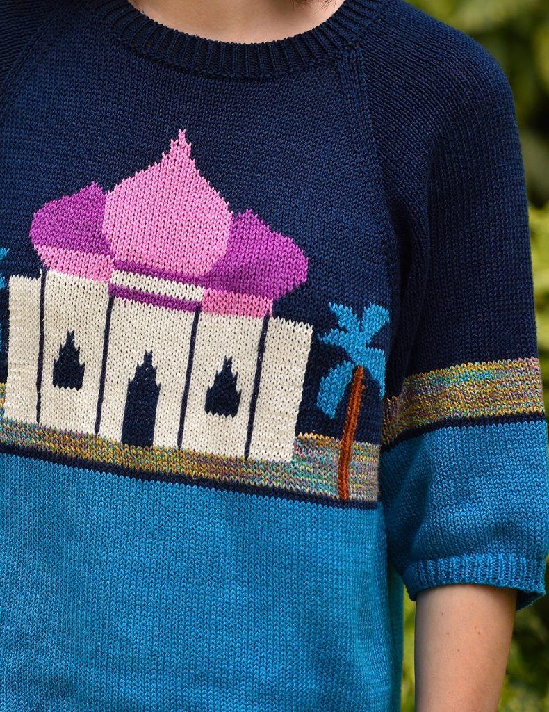 свитер восточный Verena