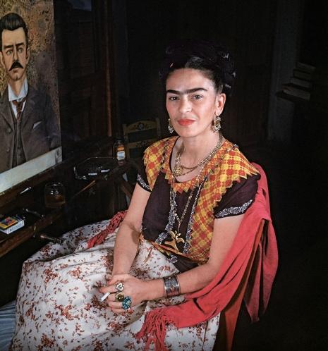 Стиль одежды Фриды Кало