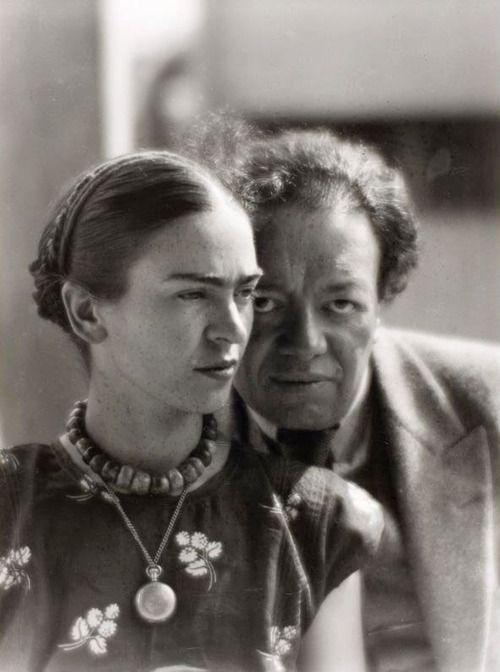 Фрида Кало и Диего Ривера портрет
