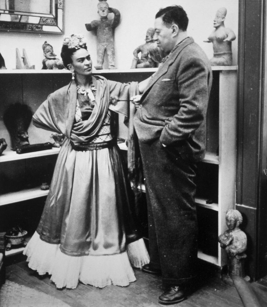 Фрида Кало и ее муж