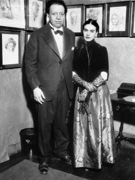 Фрида Кало и Диего Ривера а Америке