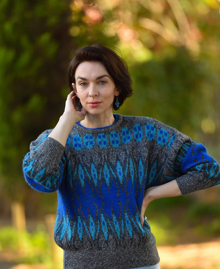свитер 80-х годов