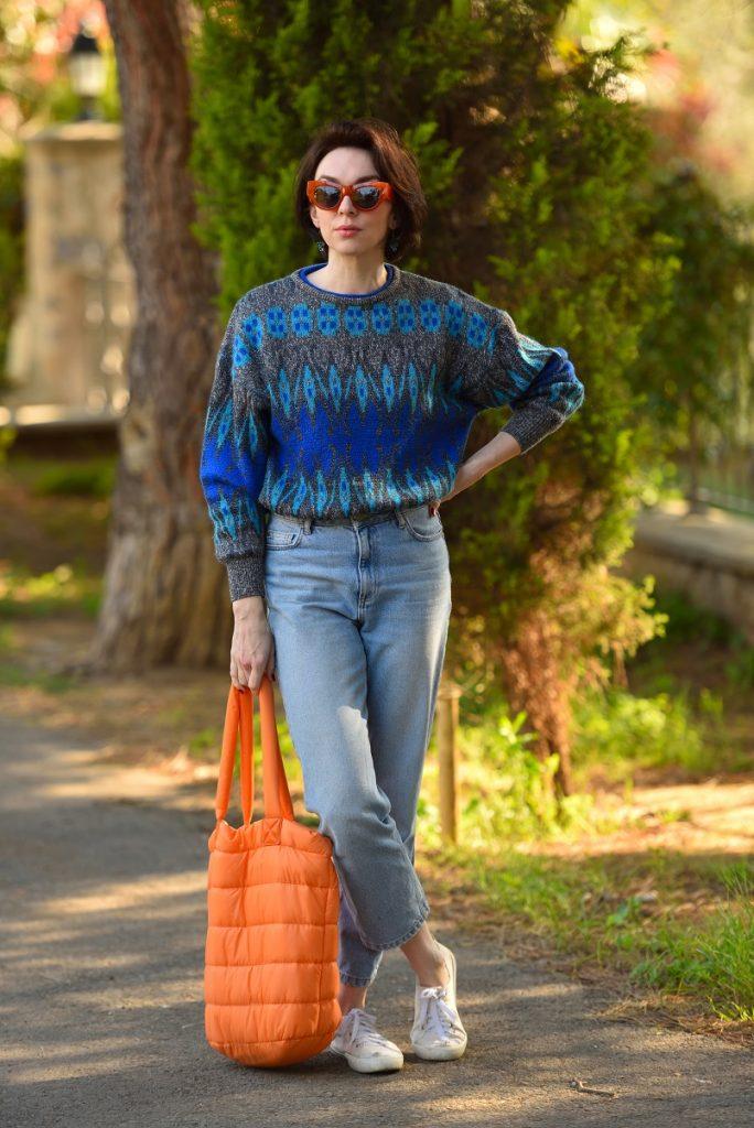 модели винтажных свитеров