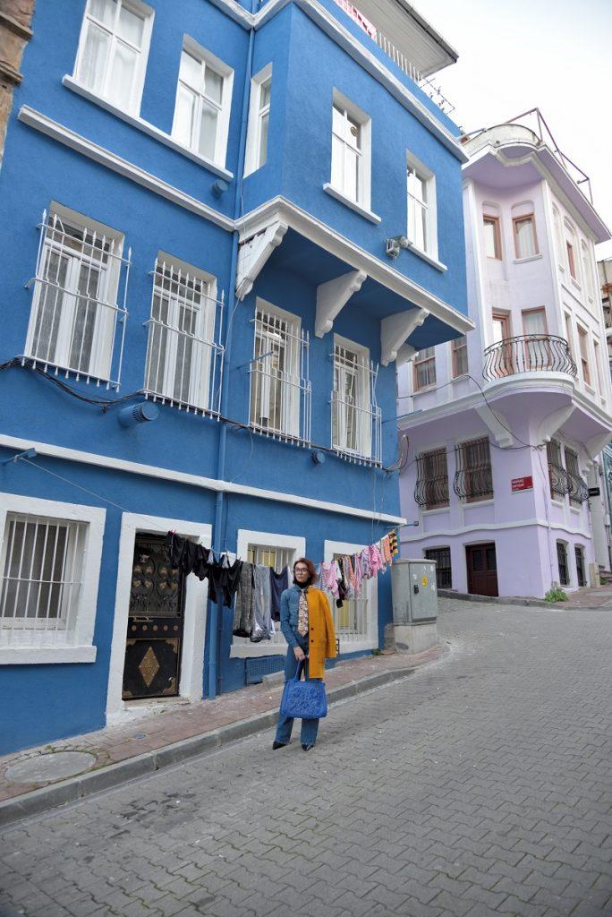 Balat'ta fotoğraf çekimi