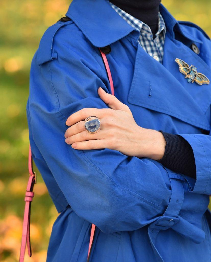 стеклянное кольцо Pesok colors