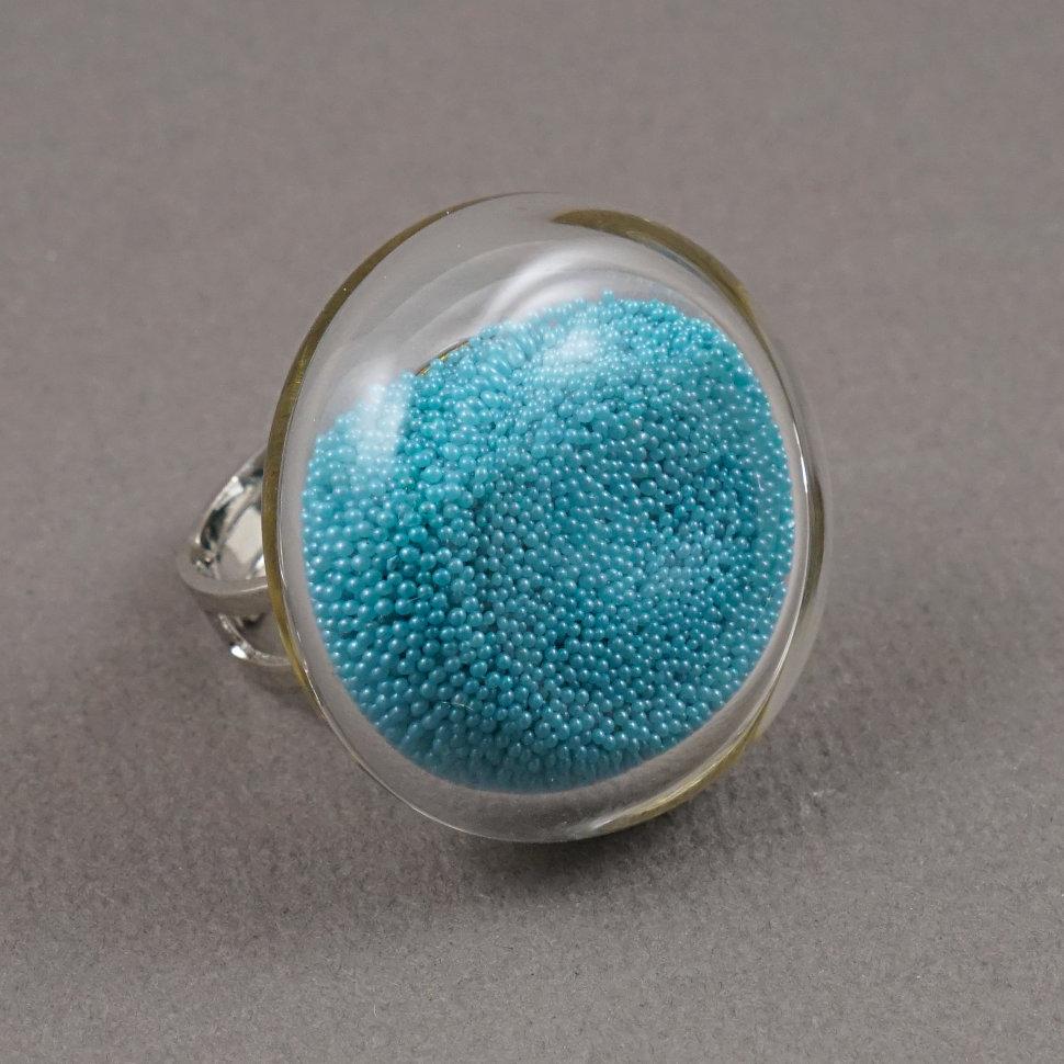 стеклянное кольцо pj murano