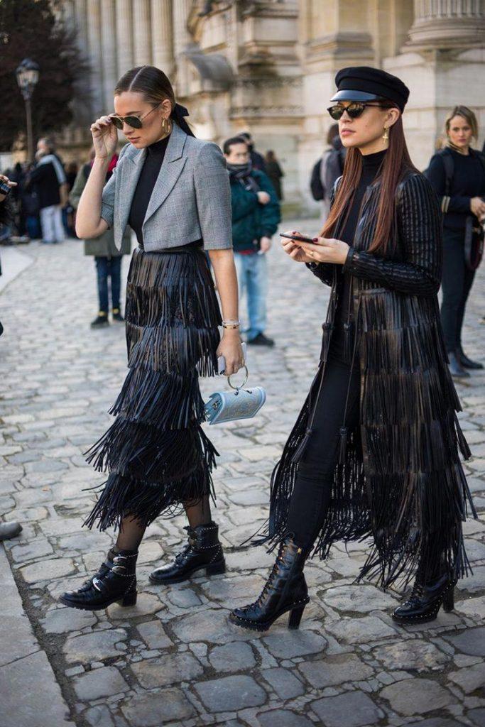 street style püskül trendi