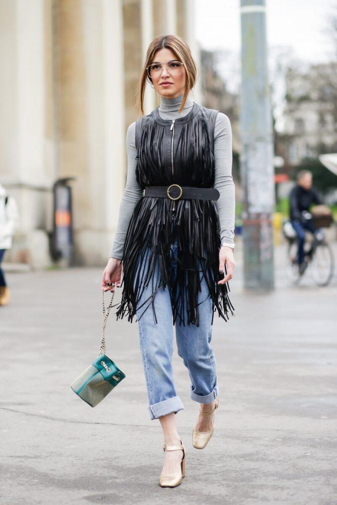 sokak modasında püskül trendi