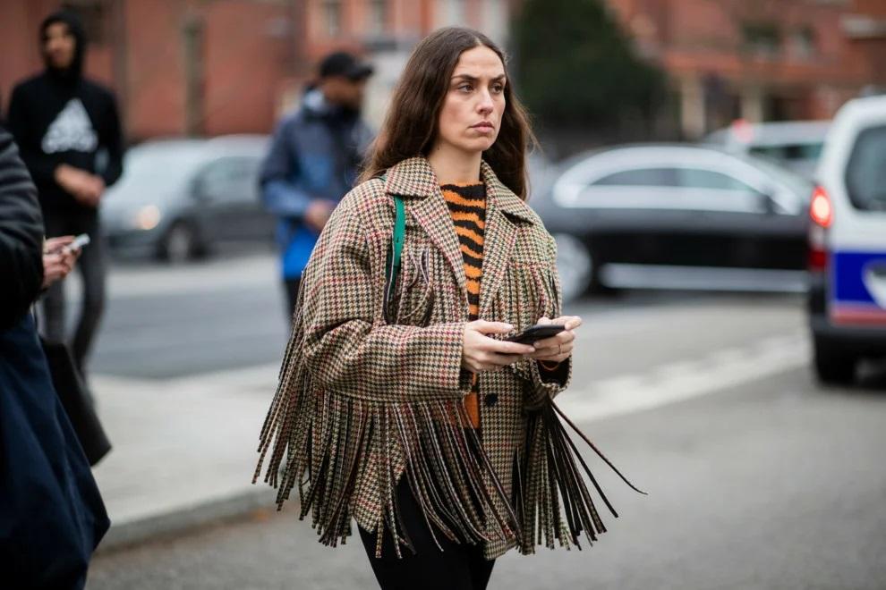 sokak modasında püskül
