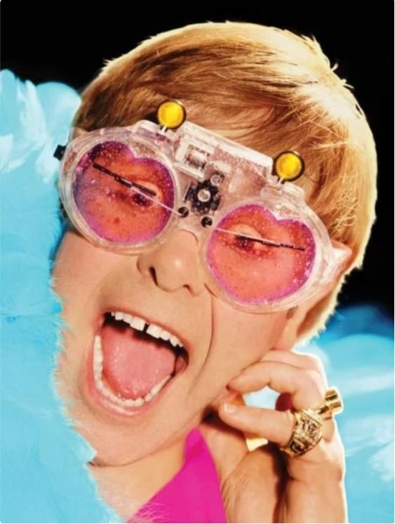 Elton John gözlükleri