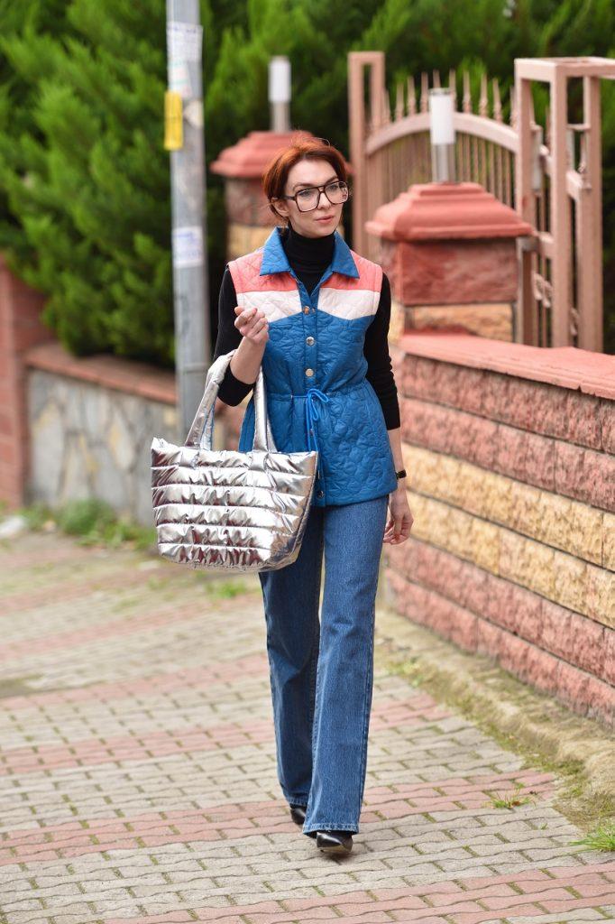 sokak modasında metalik trendi
