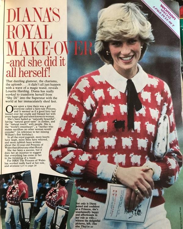 Prenses Diana'nın kazağı