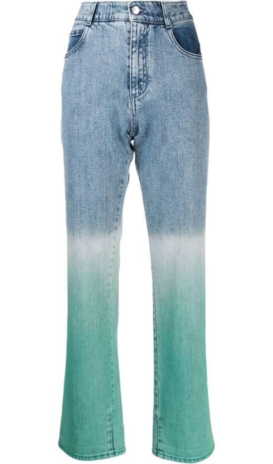 gradient trendi kot pantolon