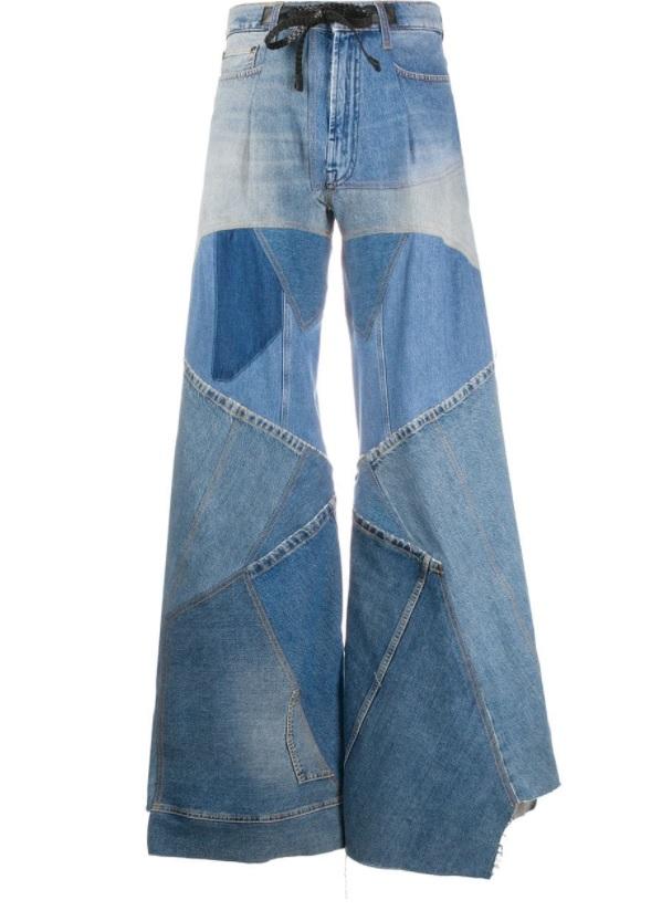 patchwork jean modelleri