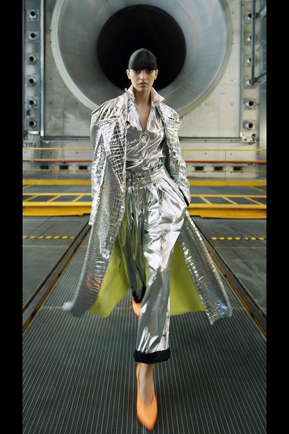 gümüş moda trendi